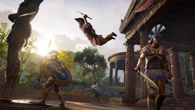 comparativa assassins creed odyssey origins