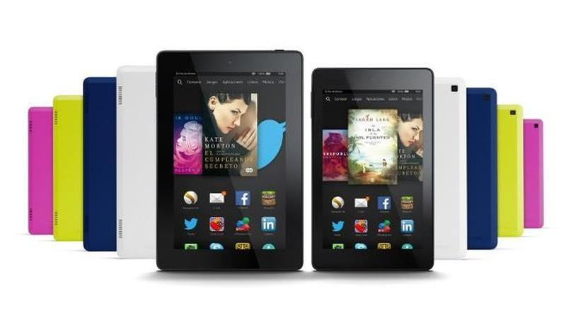 amazon kindle fire hd colores