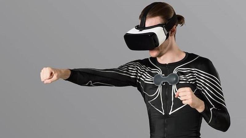 e skin camiseta realidad virtual